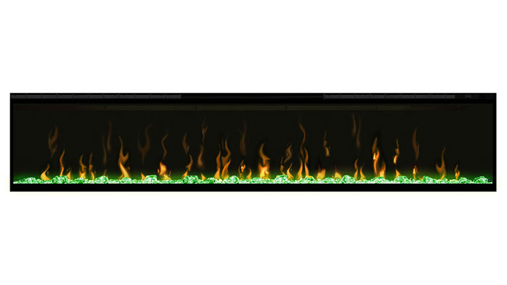Ignite XL Dimplex Electric Fireplace Green Flame