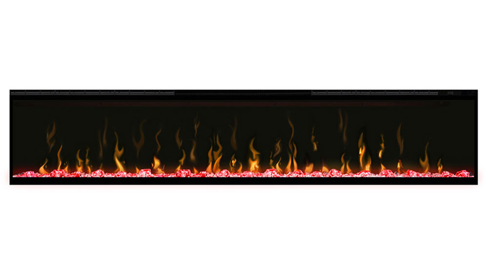 Ignite XL Dimplex Electric Fireplace Red Flame